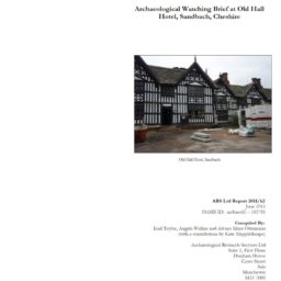 Archaeology Watch Old Hall