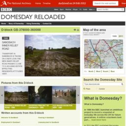 BBC Domesday Reloaded