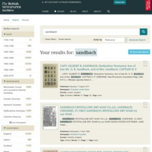 British Newspaper Library