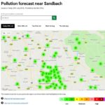 Defra Air Pollution Forecast