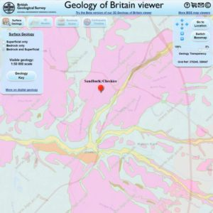 Geology Viewer of Britain