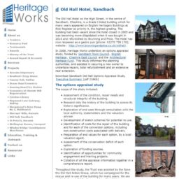 Heritage Works The Old Hall