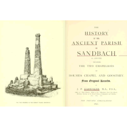 History Ancient Parish Sandbach