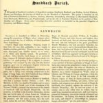 History of Chester - Sandbach Parish