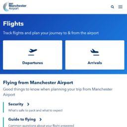 Manchester Airport flights