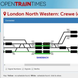 Open Train Times Live Signalling