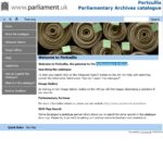 Parliamentary Archives