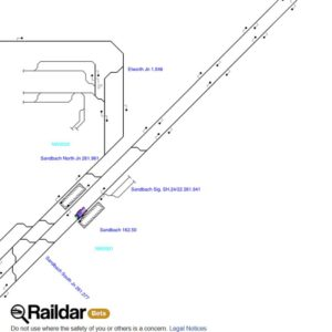Raildar Junction Map