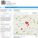 The Gazette public records